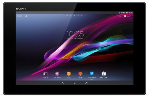 Sony Xperia Tablet Z 16GB Flash Speicher 25,7 cm (10,1 Zoll) Tablet-PC (Quad-Core, 1,5GHz, 2GB RAM, LTE, Android 4.1) schwarz