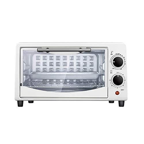 Z-Color 10L Mini Horno Parrilla eléctrica - Multi Función Cocinar & Grill, Temperatura Ajustable de Control 0-250 , Timer - 750 W (Blanco)