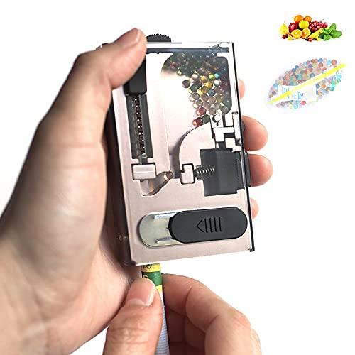 PENNY73 Spingi Perline Accendino Scatola per Capsule Filtranti Esplosione di Sigarette Scatola per Riempimento Automatico Crushball Perline Ghiacciate per Vari Tipi con 600 Perline