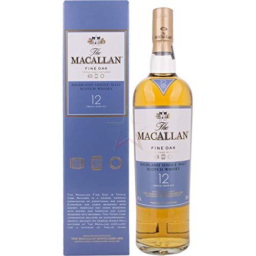The Macallan 12 Years Old Fine Oak 40,00% 0,70 Liter