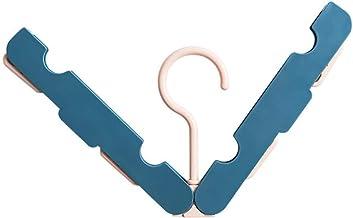 Travel Portable Droogrekken Opvouwbaar Hanger Huishoudelijke Anti-Skid winddicht kleerhanger Rotating Hanger Space Sav zca...
