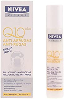 Nivea Visage Q10 Plus Under Eye Roll On - Anti Bags & Anti Wrinkle 10ml [European Import] - 2 Count