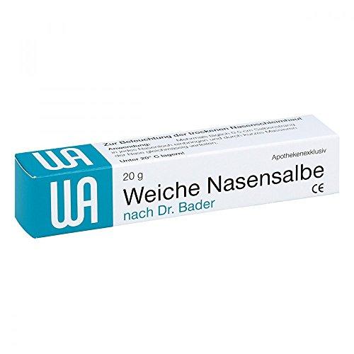 Weiche Nasensalbe, 20 g