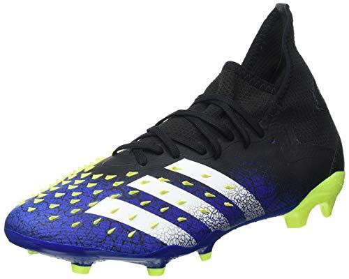 adidas Predator Freak .2 FG, Zapatillas de fútbol Hombre, NEGBÁS/FTWBLA/Amasol, 44 2/3 EU