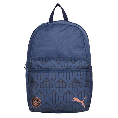 Puma Unisex MCFC FtblCore Backpack Black-Copper X