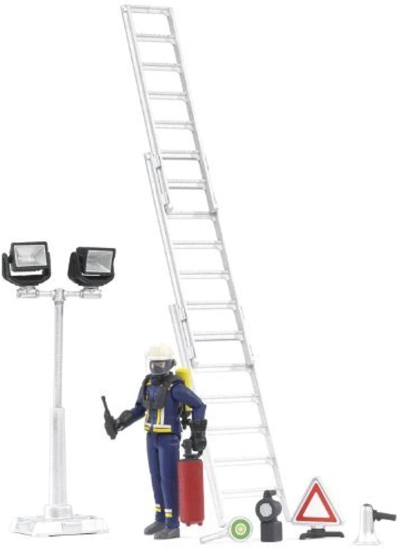 Bruder Fire Brigade Figure Set by Bruder