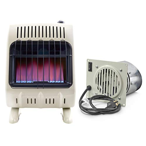 Mr. Heater Vent Free Blower Fan Kit for 20K and 30K Units and Blue Flame Natural Gas Heater