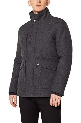 ESPRIT Herren 109EE2G001 Jacke, Grau (Grey 030), Small (Herstellergröße: S)