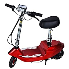 Version -6 inch tires, enhanced frame, and enjoy high speed driving.Outstanding performance-This electric scooter is equipped with an upgraded 120-watt motor with a maximum speed of 15KM/H and a cruising range of 3.1 miles (5km), which can easily han...