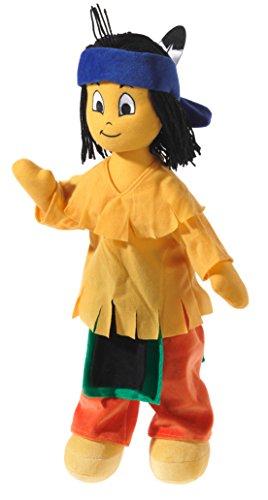 Yakari 477179 Plüschtier, Puppe, indianisch bunt