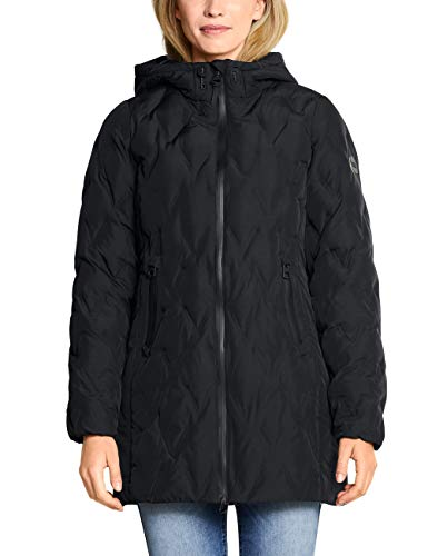 Cecil Damen 100531 Mantel, Schwarz (Black 10001), XX-Large (Herstellergröße:XXL)