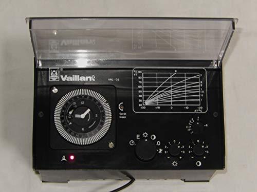 VAILLANT VRC-CB Heizunregelgerät mit analog Schaltuhr, geprüft ist 100% funktionsfähig, war ERSATZTEIL ohne OVP