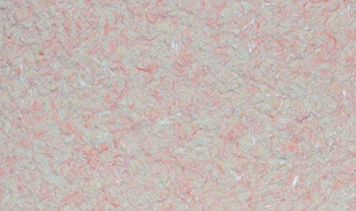 SILK PLASTER Optima 053 Dekorputz Flüssigtapete Rauhfaser-Alternative Tapete rosa/weiß Baumwollputz