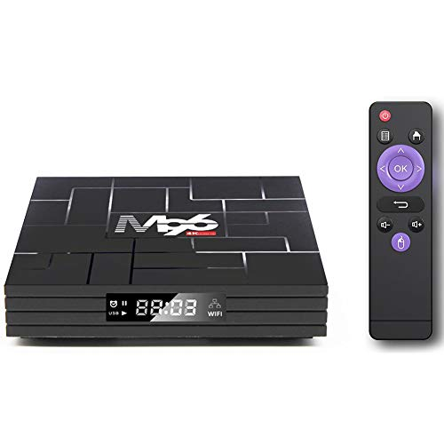 Space element Android 9.0 TV Box,4K Smart TV Box,4GB RAM 64GB ROM Built-in...