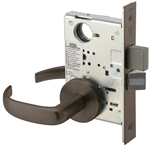 Yale PBR 8802FL 613E Heavy Duty Mortise Lockset, Lever, Privacy