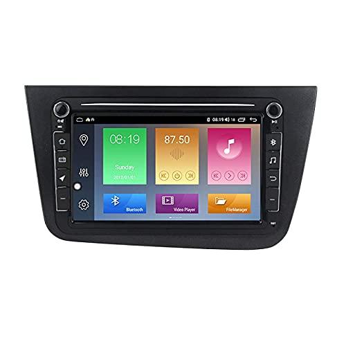 Unità principale di navigazione GPS per auto Adatto per Volkswagen Seat Altea da 8 pollici 2004-2015 Autoradio Navigatore satellitare Touch capacitivo HD Carplay Radio, 8Core 4G + WIFI: 4 + 64G