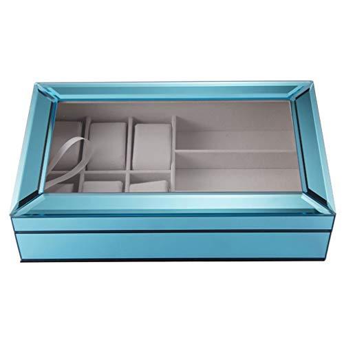 Europese minimalistische stijl horloge doos glazen doos sieraden opbergdoos bruiloft verjaardagscadeau
