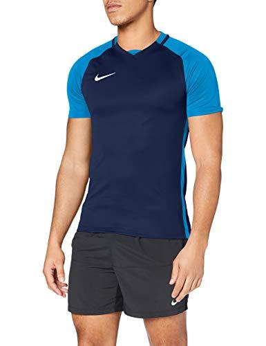 Nike Herren Trophy III Jersey Shortsleeve Trikot, Midnight Navy/Light Photo Blue/White, M