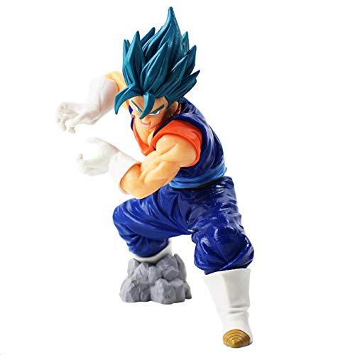 Yzoncd Dragon Ball Super Saiyan God SS Vegetto Final Kamehameha Son Goku Vegeta Dragonball Z PVC Figura De Acción Modelo De Juguete 20Cm