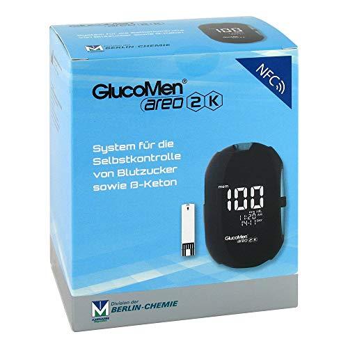 GlucoMen areo 2K Blutzucker- und �-Ketonmessger�t mg/dL, 1 S