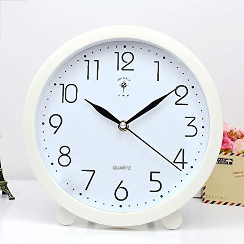 Relojes de escritorio El reloj de la pared del reloj del reloj del reloj del reloj de la tabla ahora se personaliza el reloj de reloj de mesa creativa personalizada Reloj de Cama Silencioso