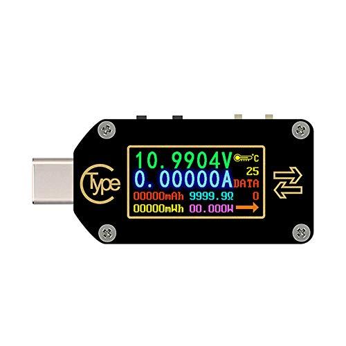 Best Price Finetoknow TC66/TC66C Type-C PD Trigger Voltmeter Ammeter Voltage Current Meter Multimete...