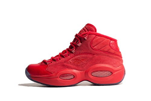 Reebok Women's Question Mid Teyana Primal Red BD4487 (SIZE: 5.5)