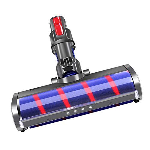 Guangcailun Rodillo barredora Cabeza del hogar reemplazable para barrendero del vacío Cabeza reemplazable Rodillo barredora Principal Suave para V7 V8