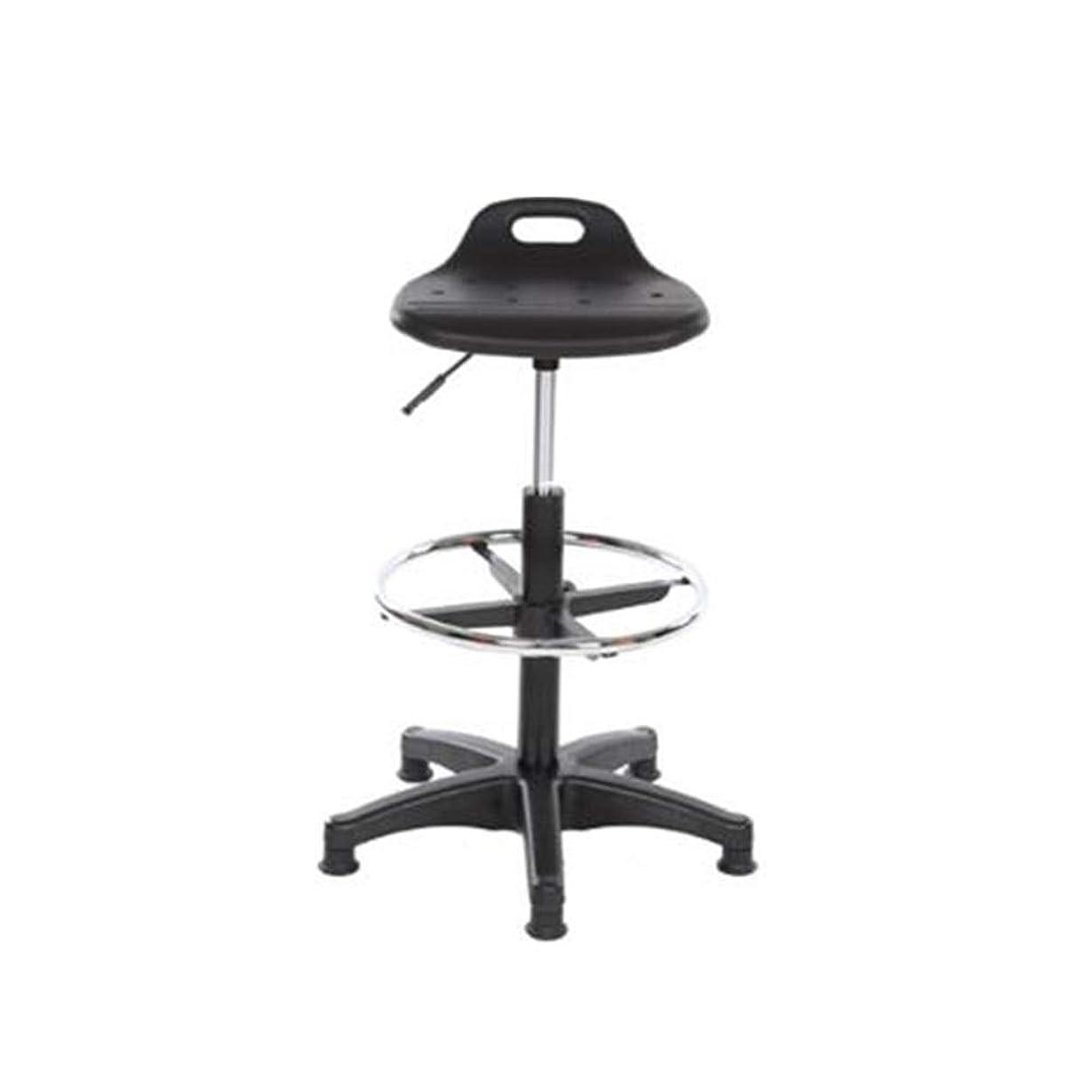 昆虫道路捧げるFEIFEI 鋼鉄高い腰掛け、あと振れ止め、高さ調節可能なバースツールが付いている安全で慰めの椅子