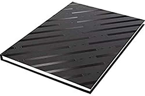 Skizzenbuch Kangaro A4 blanko Hardcover 80 Blatt 140g schwarzes Design, 29.4x21.3x1.4, K-5584