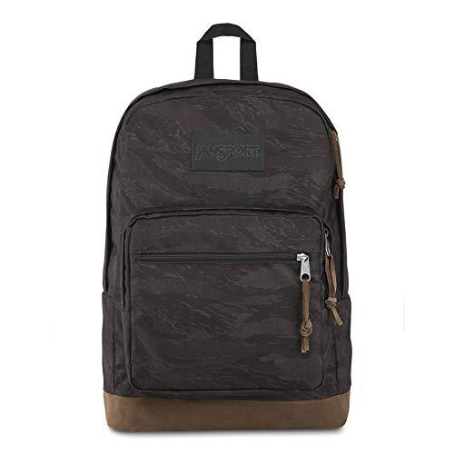 """JanSport Right Pack LS Mochila - Edición limitada 15"""" Laptop Pack   Negro Tiger Camo"""