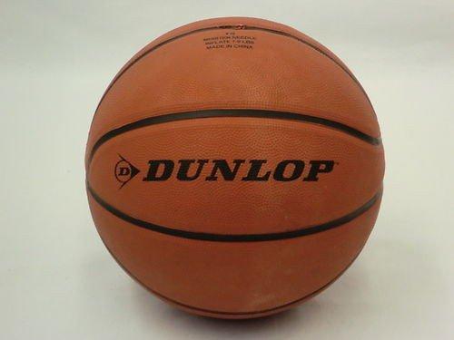 Dunlop DBM7 Basketball Indoor und Outdoor Ball, leichtes Kunstleder, Gr. 7, orange, Training Spielball Street Wettkampf