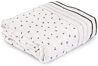 aden + anais Silky Soft Oversized Muslin Blanket, Midnight