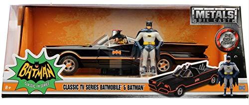 バットマン 1966 クラシック テレビシリーズ メタルズ ダイキャストビークル バットモービル & バットマン / DC COMICS BATMAN CLASSIC TV 2016 METALS DIE CAST BATMOBILE DCコミックス 映画 [並行輸入品]