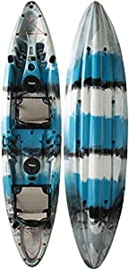 Vanhunks Voyager Deluxe Kayak 12ft (Blue)