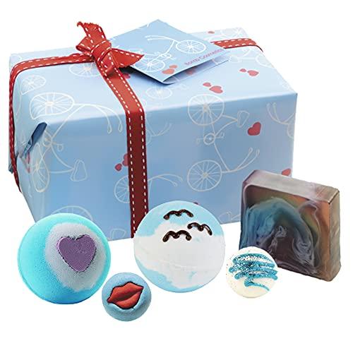 Bomb Cosmetics Coffret cadeau de produits pour le bain, Free Spirit, fait à la main