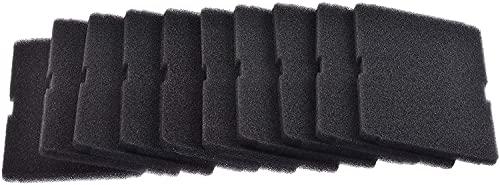 Kit de 10 filtros de esponja fina para evaporador de secadora (original Beko) 2964840200. Dimensiones: 150 x 240 mm. Malla fina