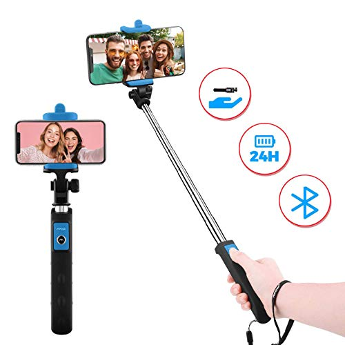 Bluetooth Selfie Stick, Mpow Extendable Monopod...