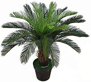 نباتات صناعية 1.3 متر شجرة سايكاد الاستوائية نبات صحراوي لتزيين حديقة المنزل