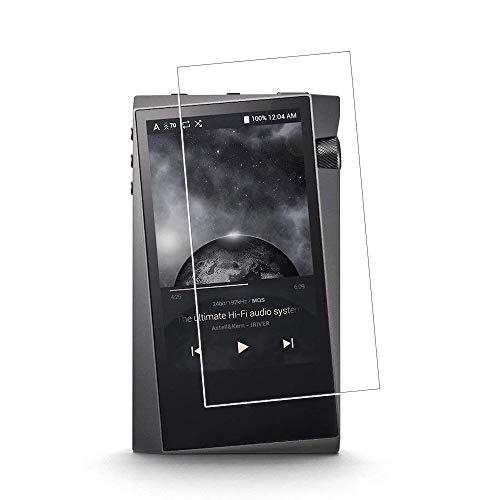 Zshion Astell&Kern A&Norma SR15 Displayschutzfolie aus gehärtetem Glas, 9H Härte, Anti-Fingerabdruck, blasenfrei, kristallklar
