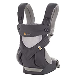 Ergobaby Carrier, 360 All Carry Positions Baby Carrier with Cool Air Mesh