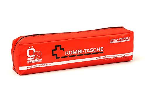 LEINAWERKE 33099 Mini-Kombitasche ÖNORM Ö2 Mini Ecoline farblich sortiert - 1-farbig, ohne Klett, 5 Stk.