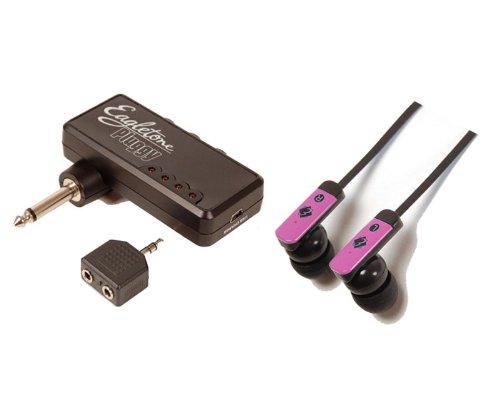 EAGLETONE PLUGGY + FLAT PINK E-Gitarren-Verstärker Batteriebetriebene Verstärker