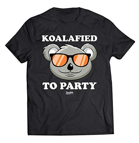 Koalified to Party Shirt Funny Koala T Shirt