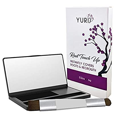 Premium Root Touch Up - Temporary Instant Root Concealer for Extending Time Between Coloring - Cover Up Grays and Roots with Color and no Spray - Lasts Until You Shampoo