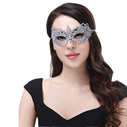 Máscara Encaje Negro , Lace Mask  Máscaras De Encaje Para Fiesta Mascaras Carnaval