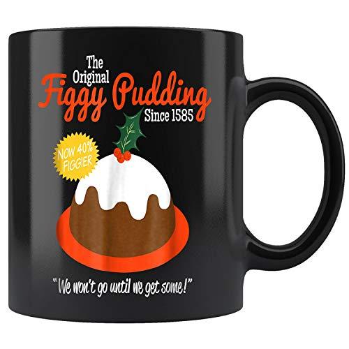 Figgy Pudding Retro Christmas Mug Coffee Mug 11oz Gift Tea Cups 11oz