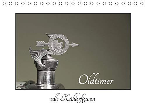 Oldtimer - edle Kühlerfiguren (Tischkalender 2021 DIN A5 quer)