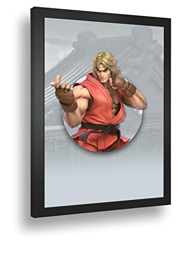 Quadro Decorativo Poste Super-Smash-Bros-Ultimate-Ken
