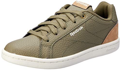 Reebok Royal Complete CLN, Zapatillas de Tenis para Niños, Multicolor (Outdoor/HunterGreen/Classic White 000), 37 EU